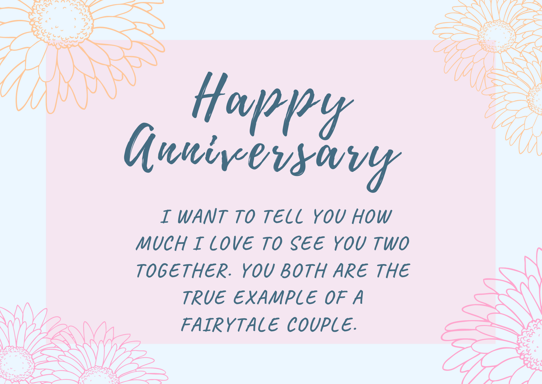 anniversary messages for sister