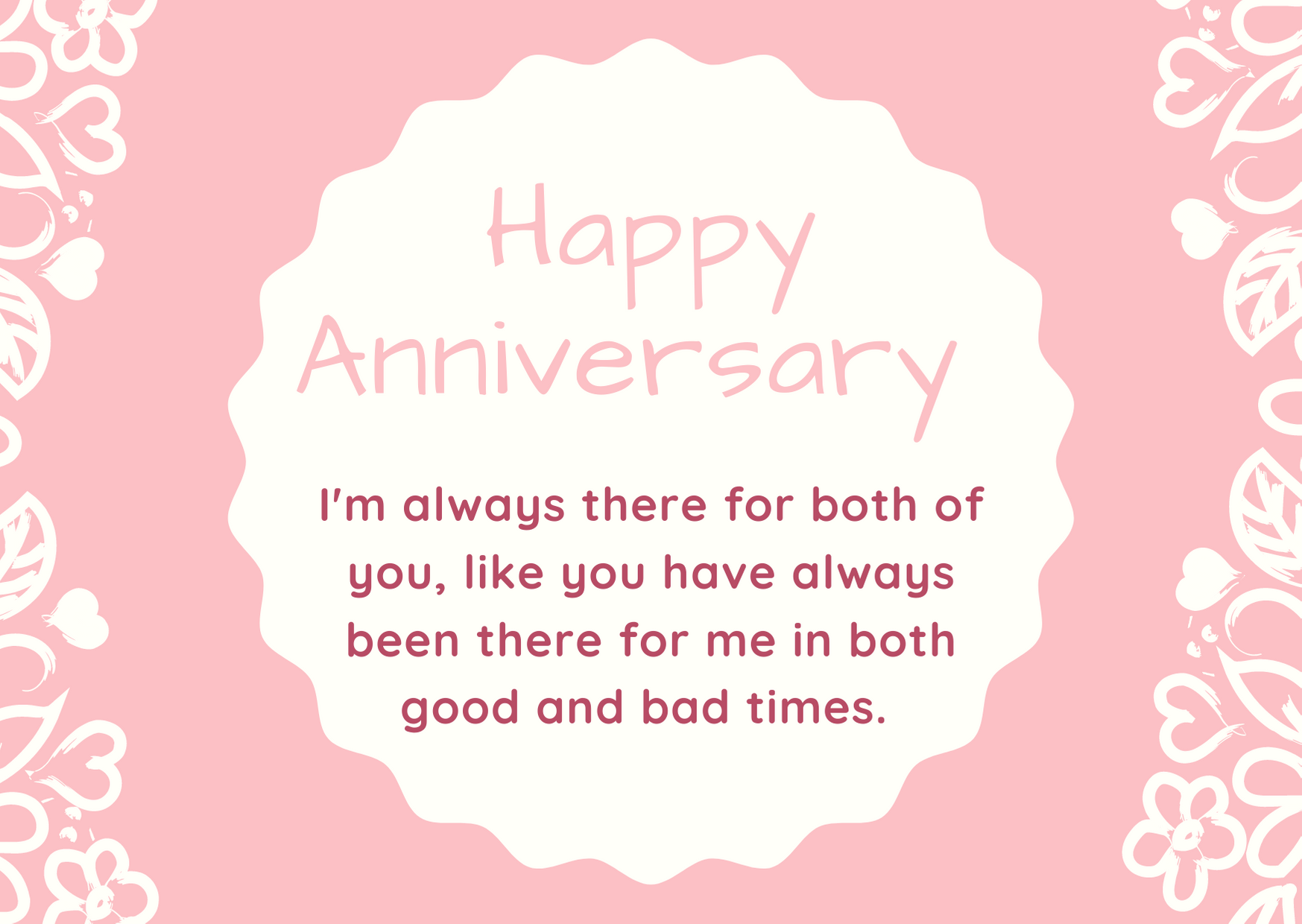 1st wedding anniversary wishes to sister