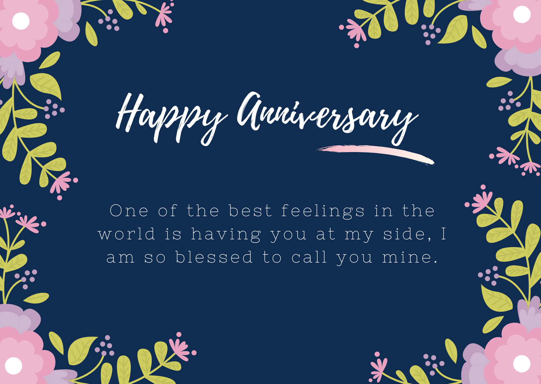 happy anniversary to wife