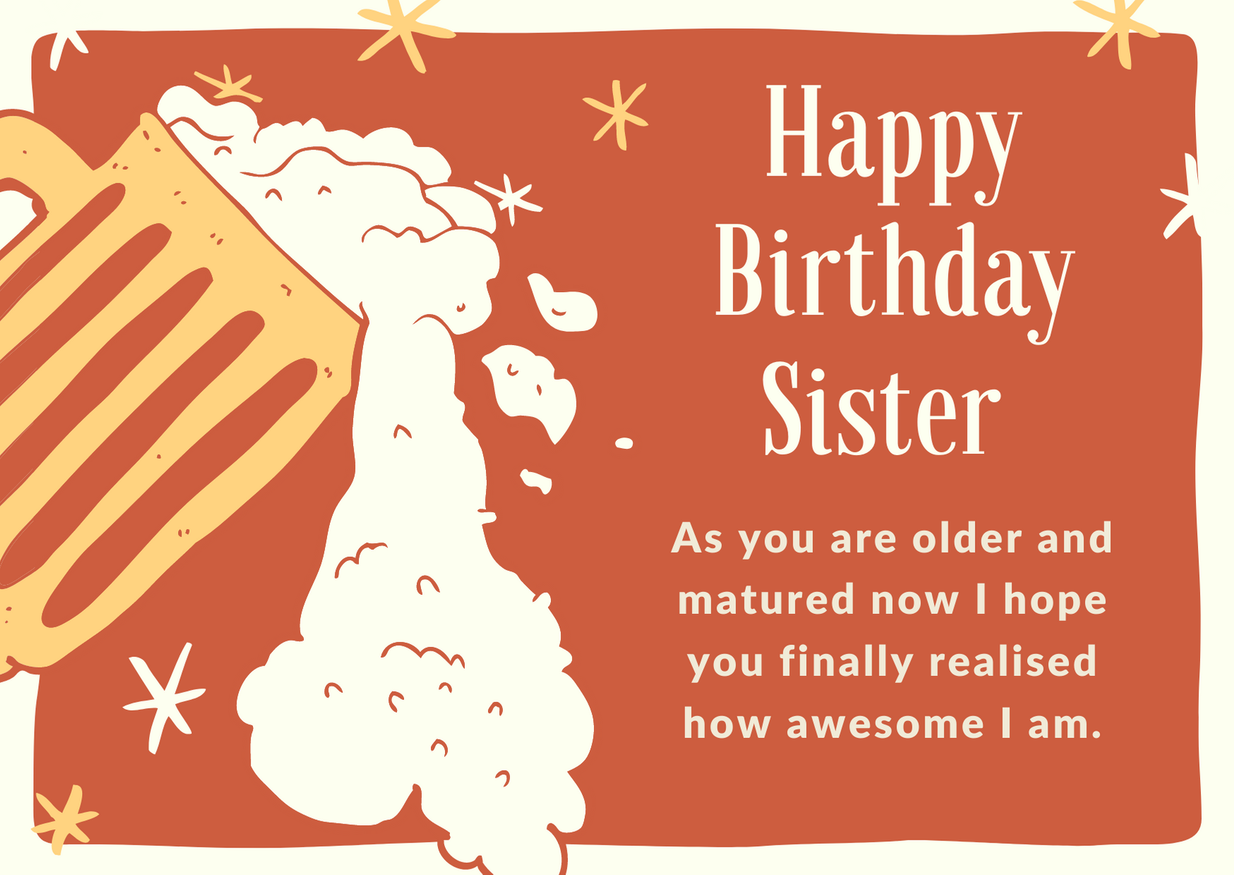 bday wishes to cousin sister