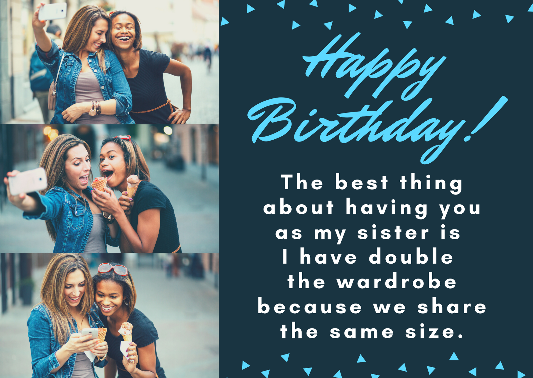 sister bday quotes