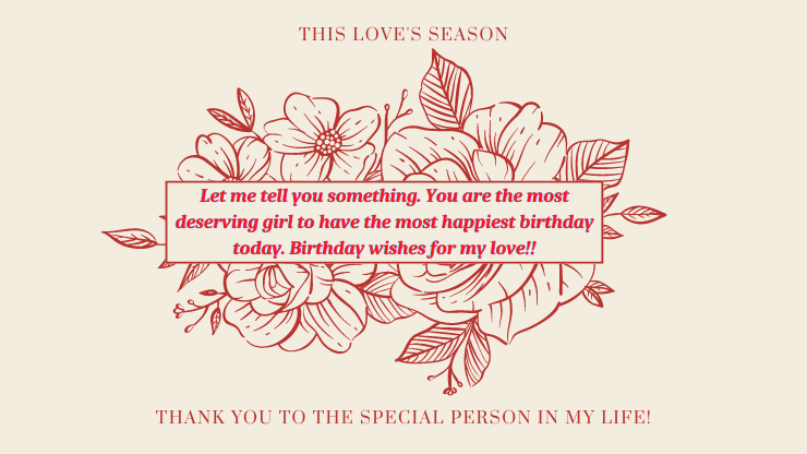 birthday wishes for gf romantic