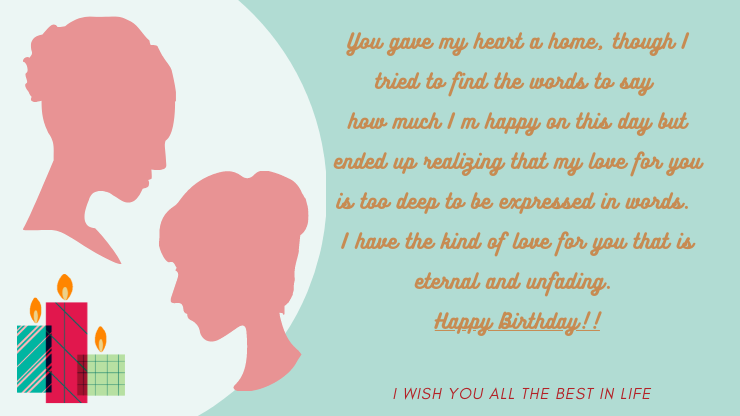 happy birthday wishes for a girlfriend