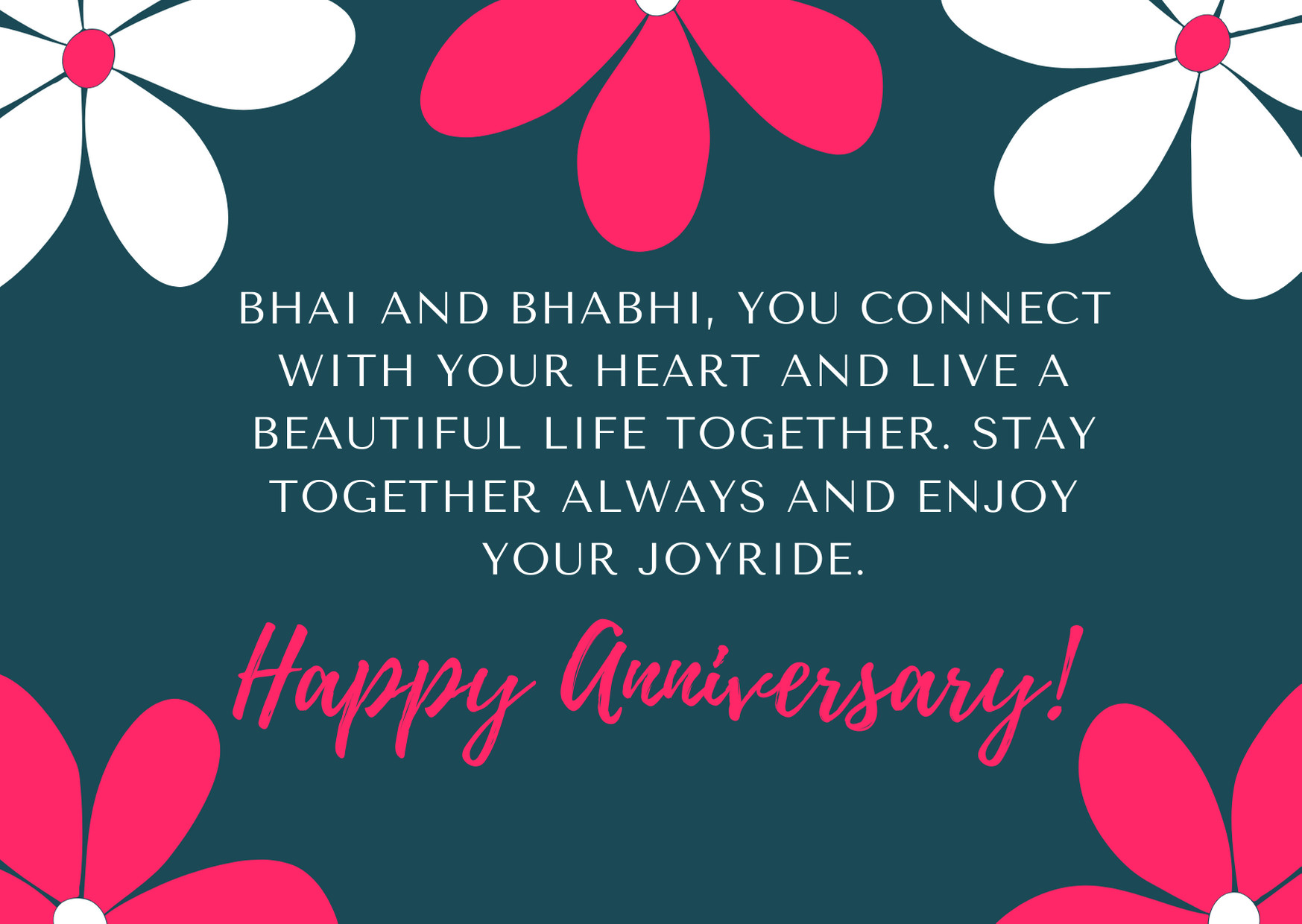 anniversary messages for brother