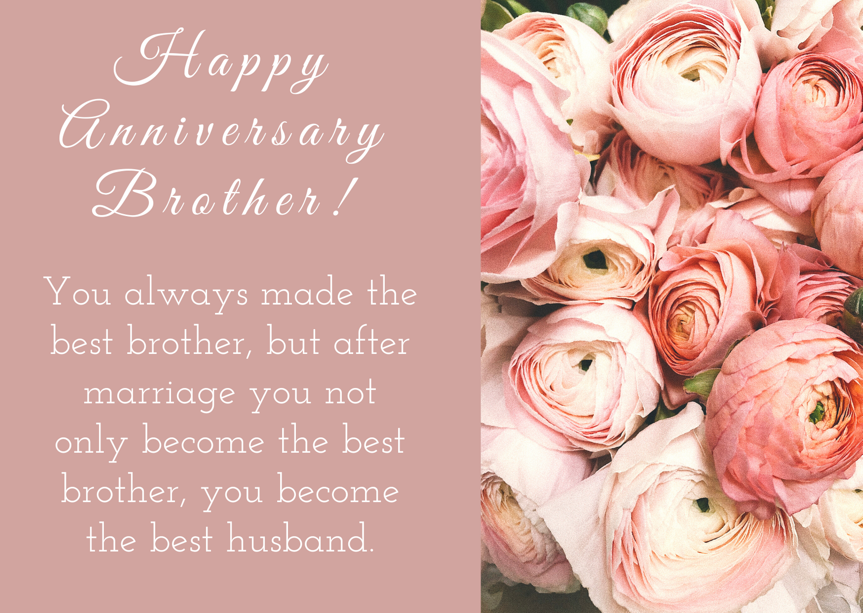 Anniversary Wishes for brother and Bhabhi