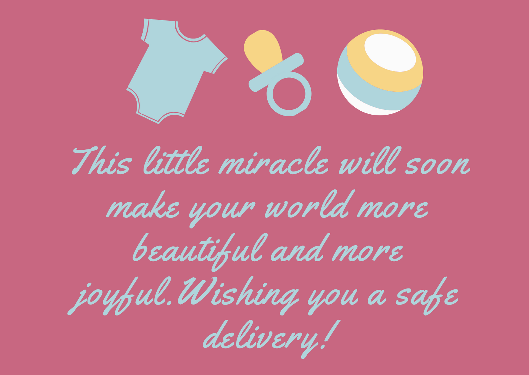 baby shower wishes for mom