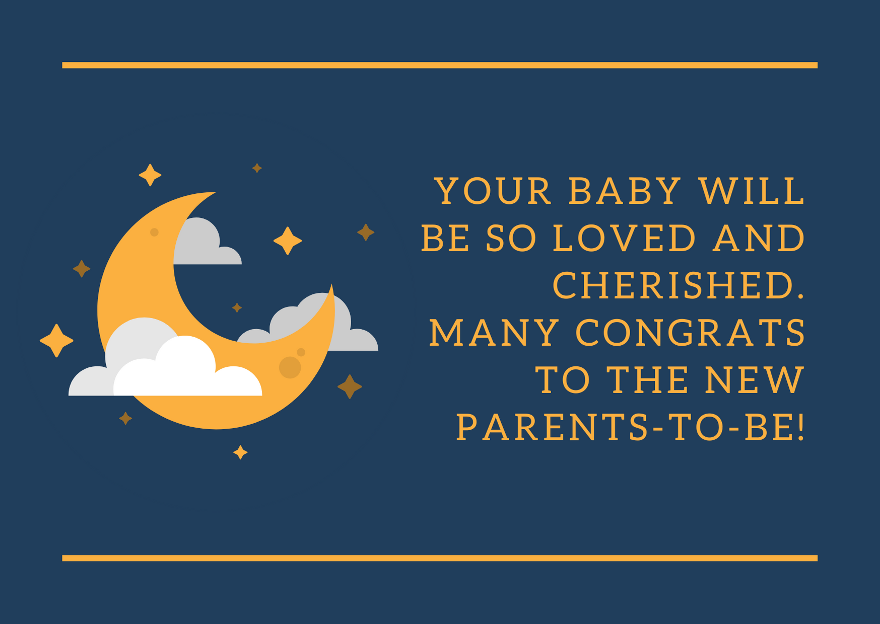 baby shower wishes for new parents