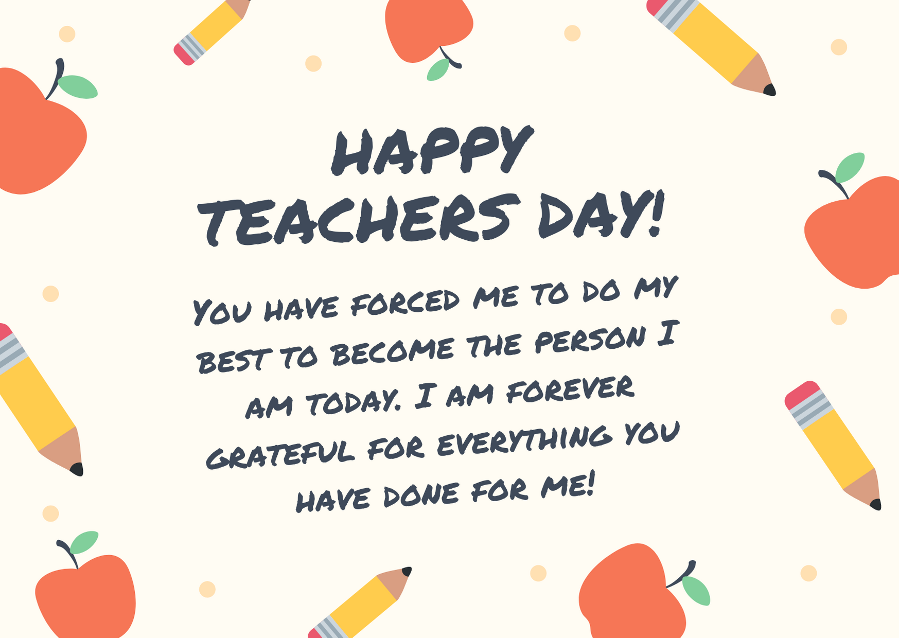 teachers day wishes in one line