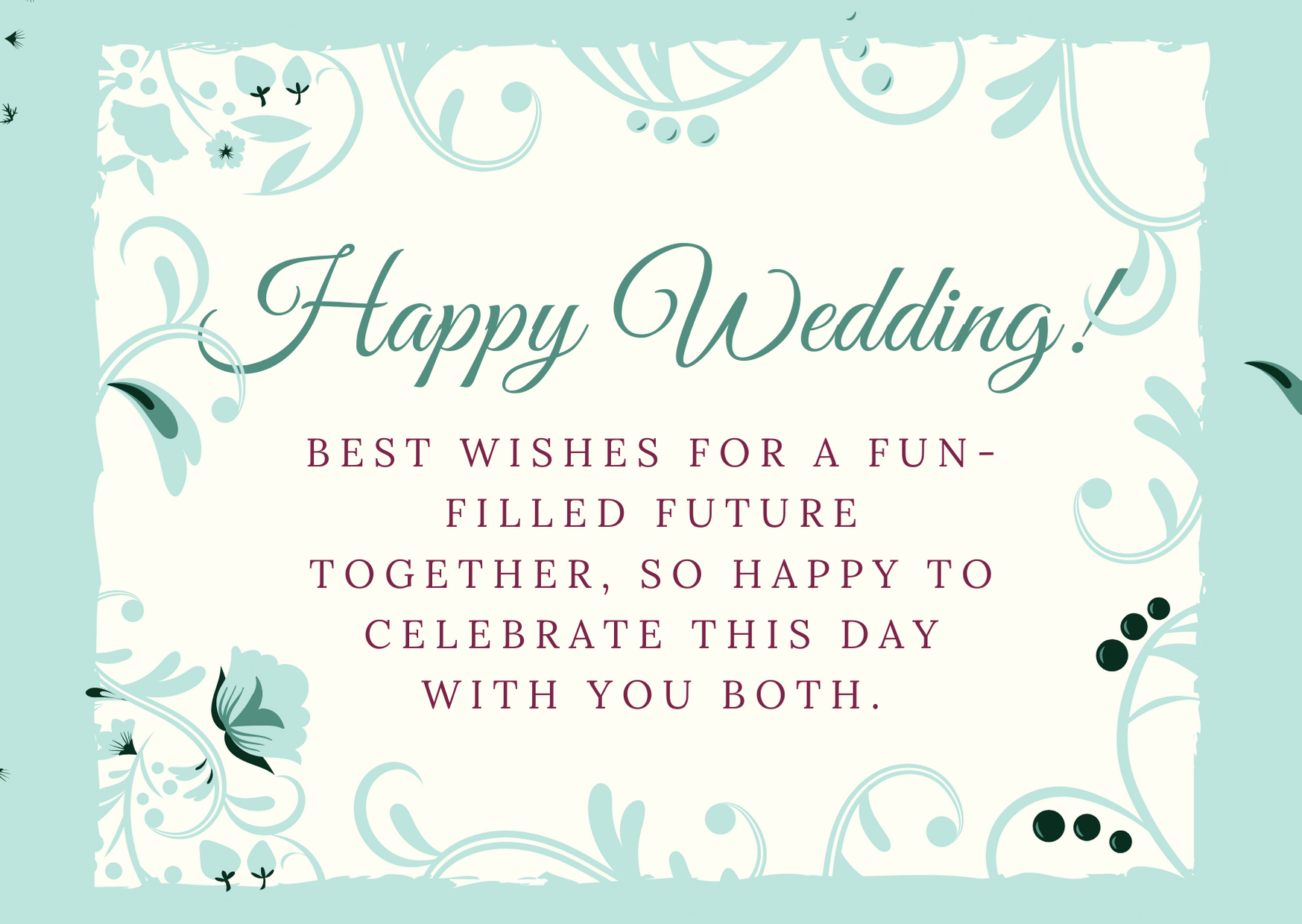 congrats message for friend marriage