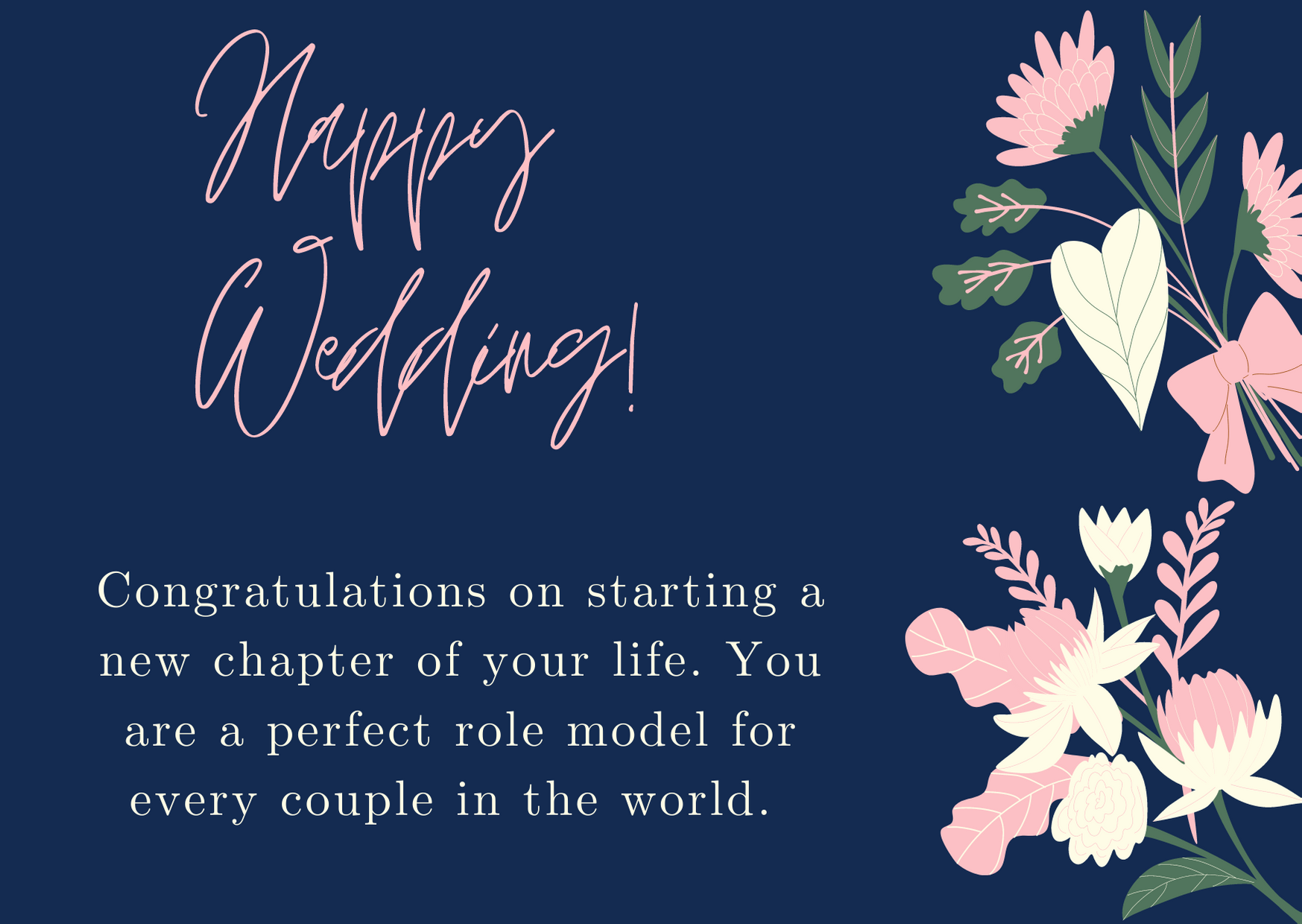 wishes for new marriage life