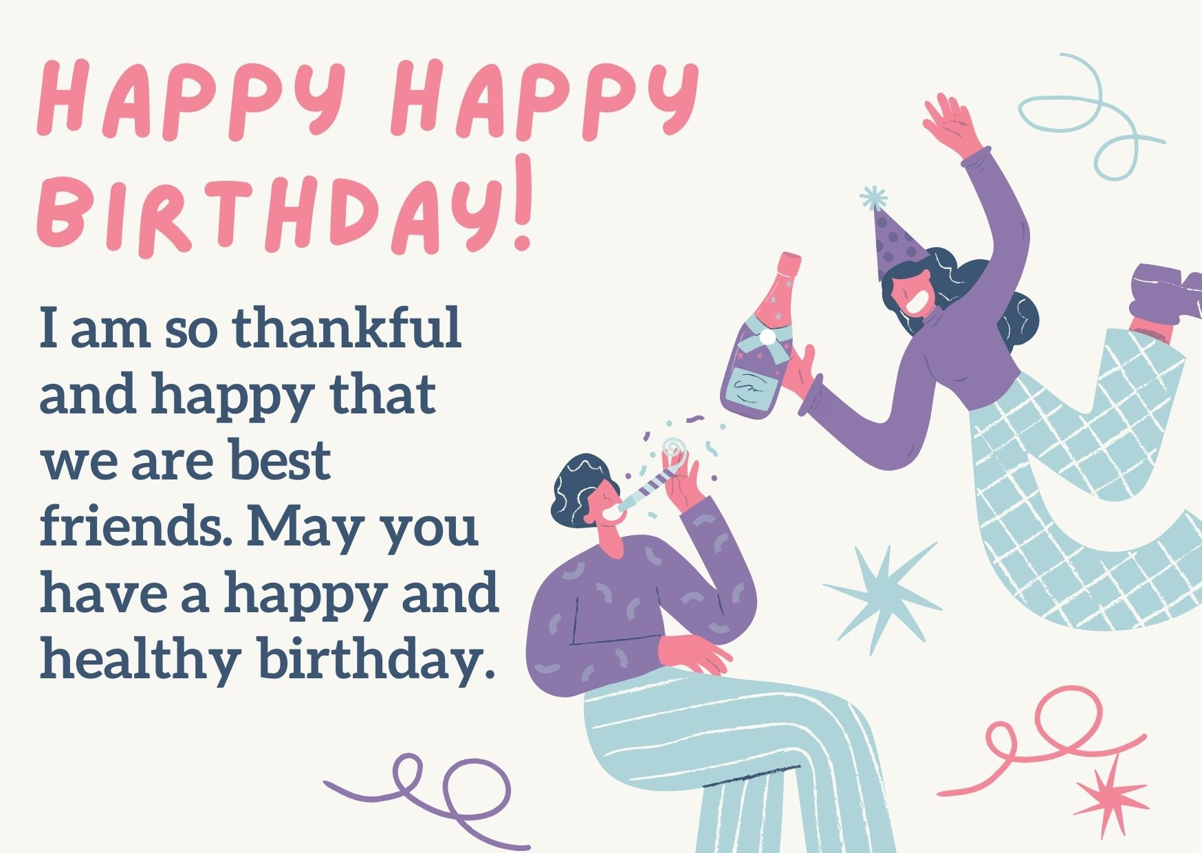 birthday wishes for a male friend