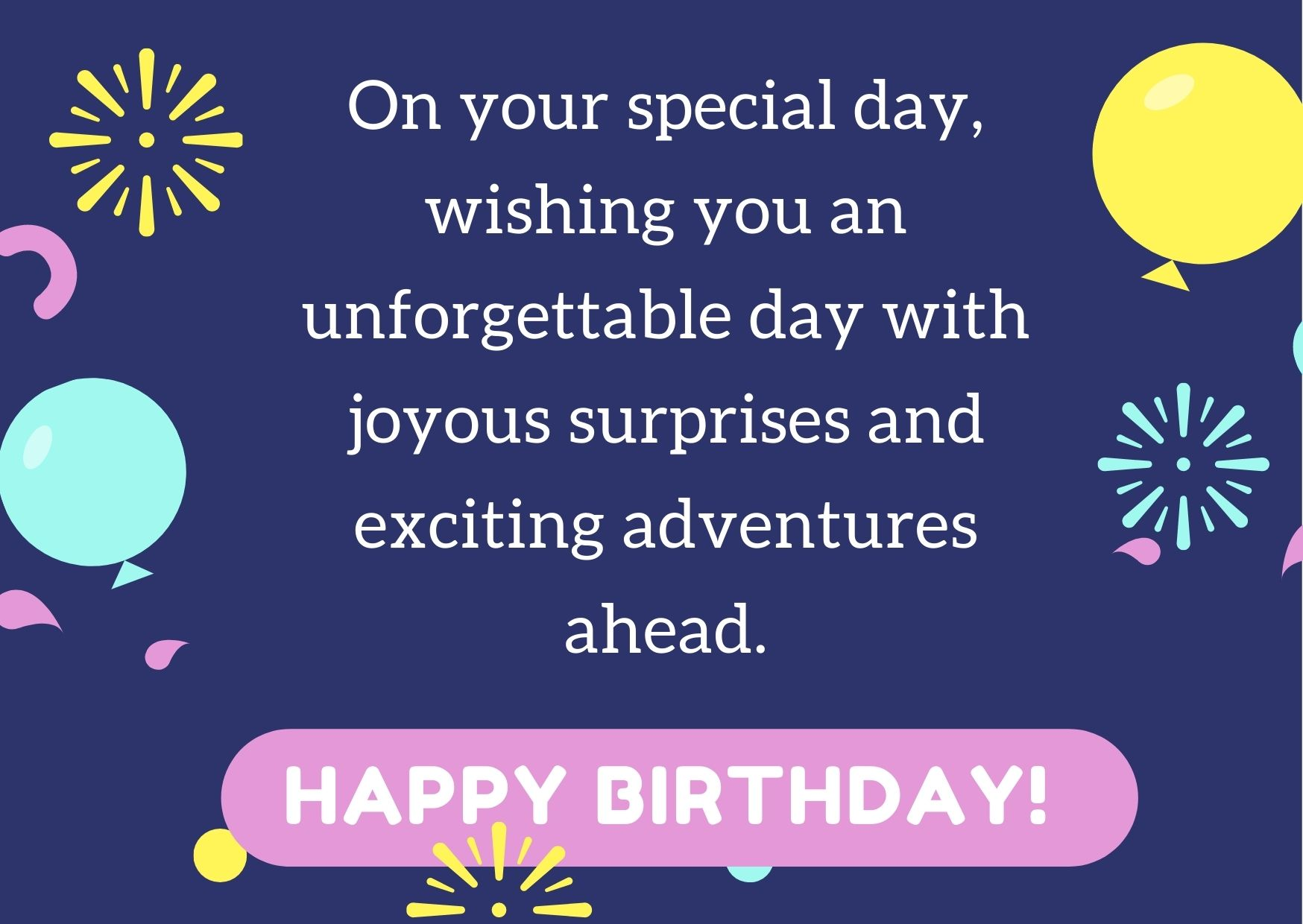 birthday wishes for your male friend