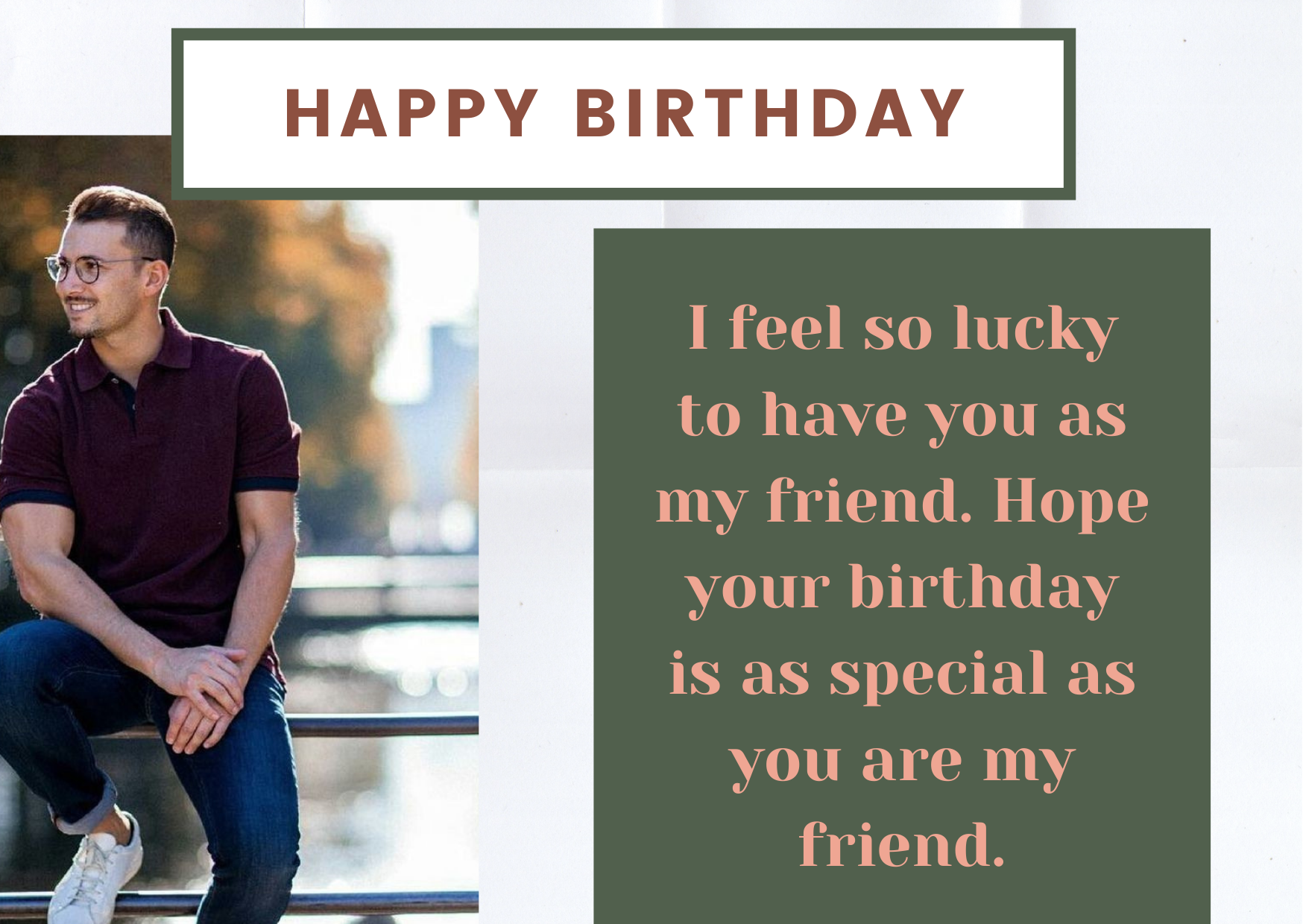 birthday wishes for male friend